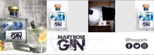 Mary Rose Gin Advert BAE