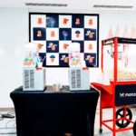 Branded Popcorn Cart and Slush Machines Corporate Event London