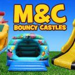 M&C Bouncy Castle Hire Logo