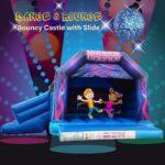 Dance & Bounce Bouncy Castle with Slide.jpg