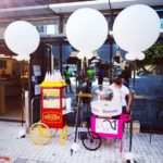 University Popcorn and Candyfloss cart hire London