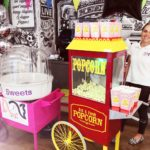 Candy floss and popcorn hire London