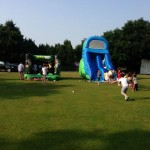 Outfield for games and soft play