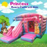 Frozen Princess Bouncy Castle with Slide.jpg