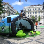 Ben & Jerry's Inflatable Pop Up Structure