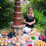 Chocolate fountain hire party
